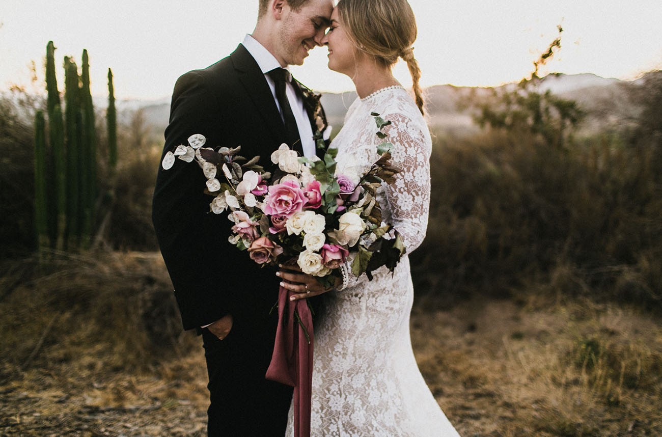 Romantic Ojai California Wedding