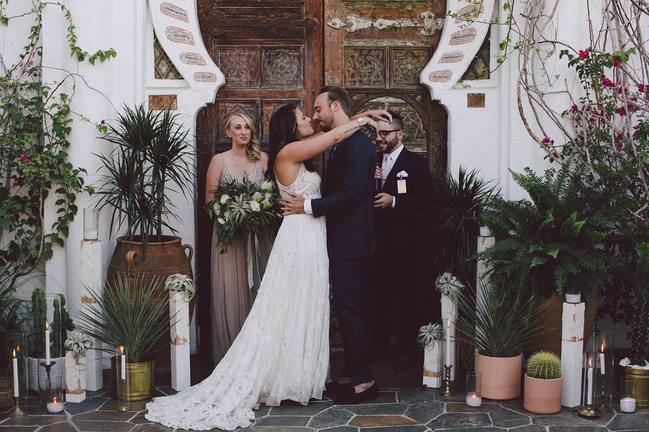Cosmic Geometric Korakia Pensione Wedding