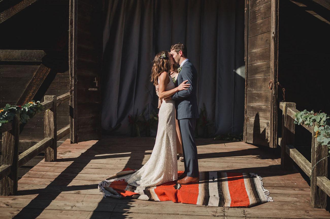 Rustic Half Moon Bay Wedding