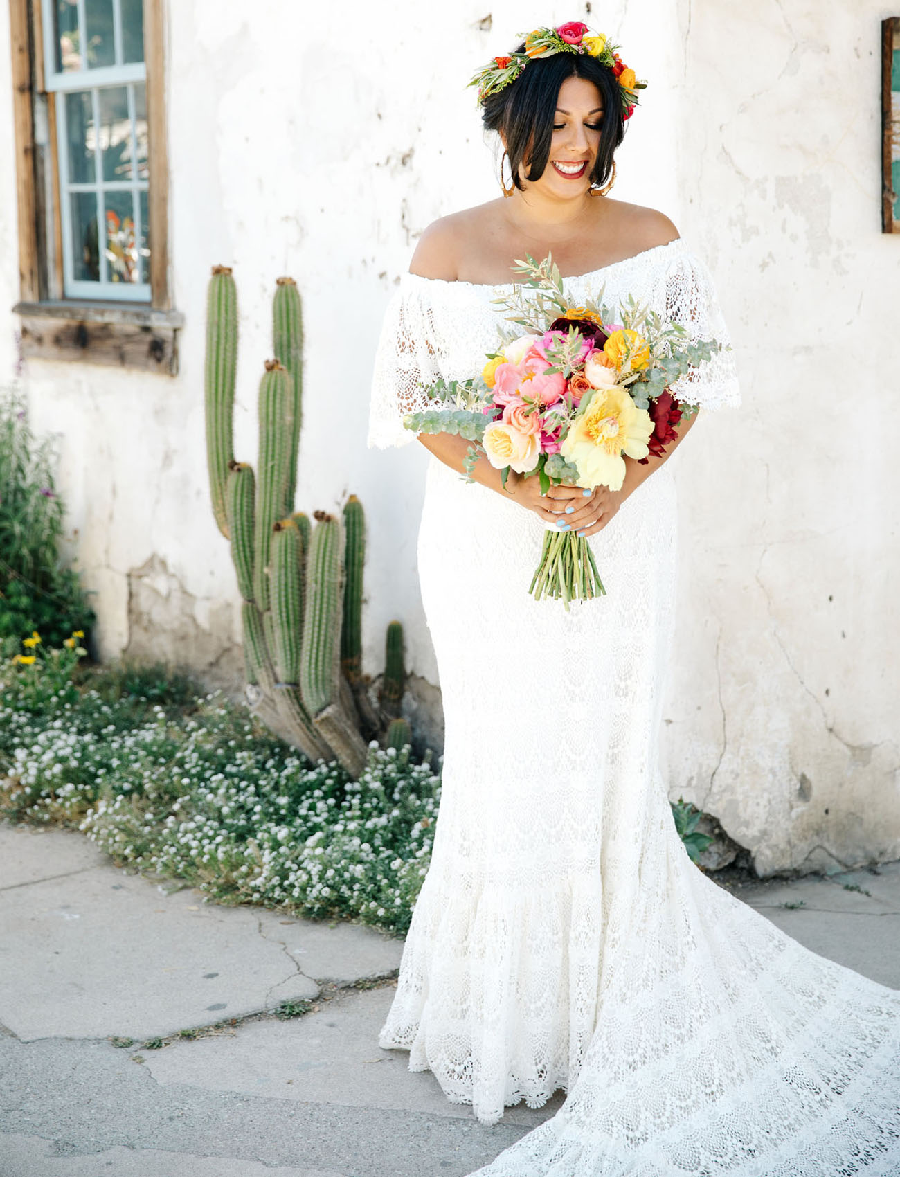 Colorful Mexico-Inspired Wedding at an Old Western Town in ...