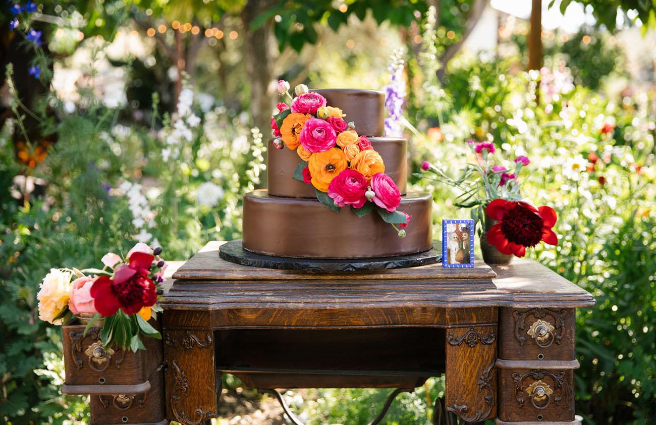 marigold cake