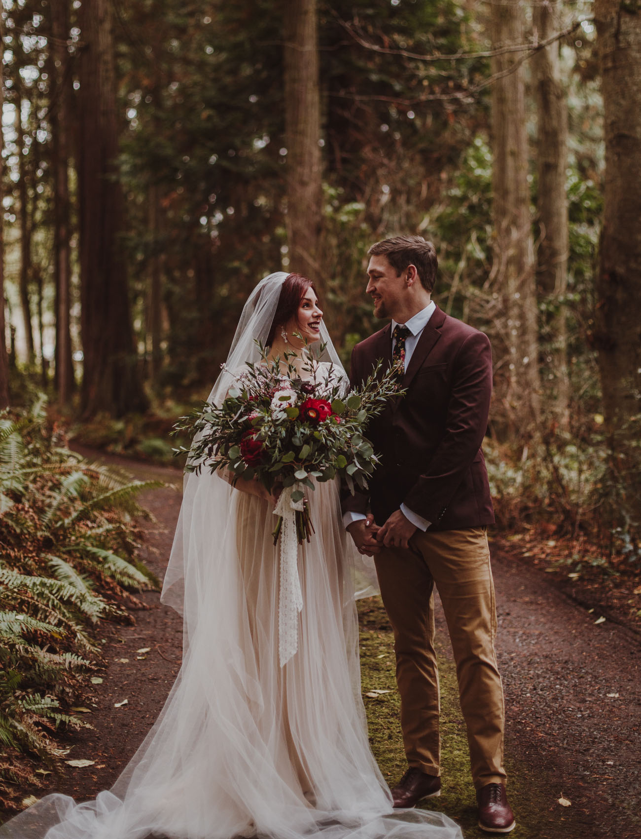 Olympic Peninsula Forest Elopement
