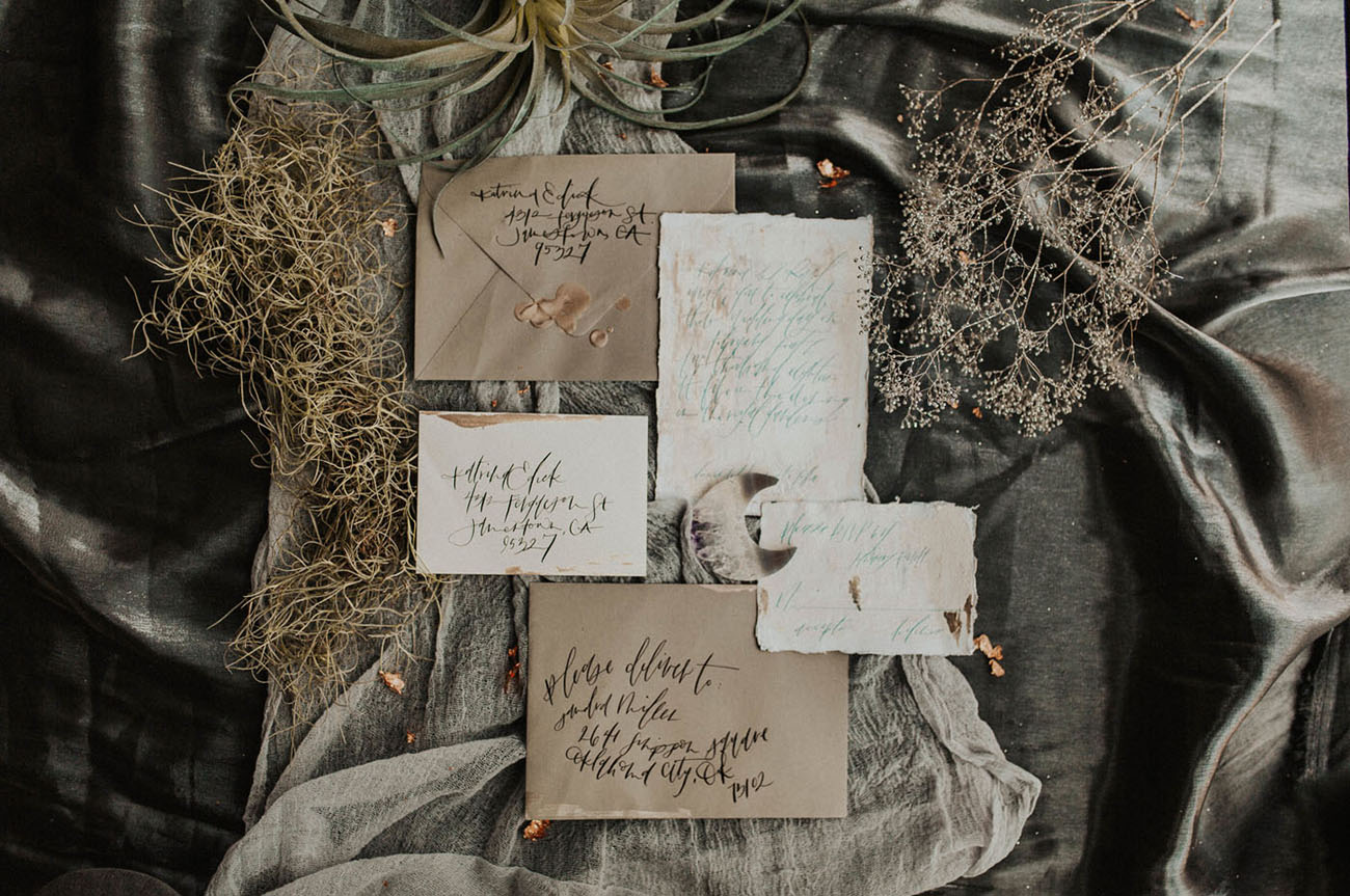 Starry Botanical Wedding Inspiration