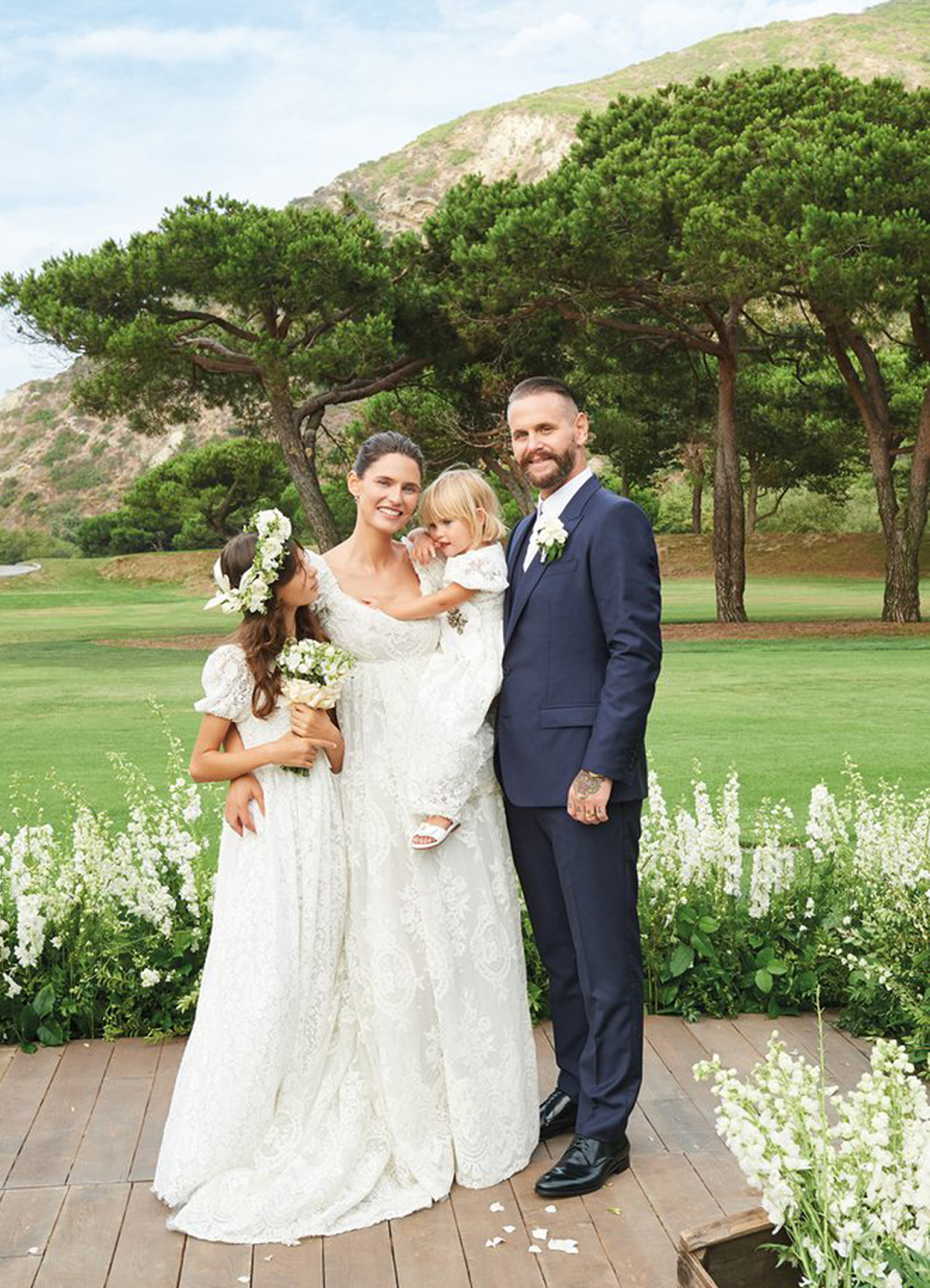 Supermodel Bianca Balti Wedding
