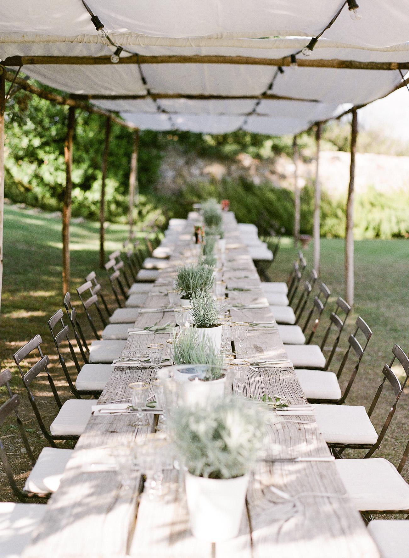 Tuscany Dinner Reception