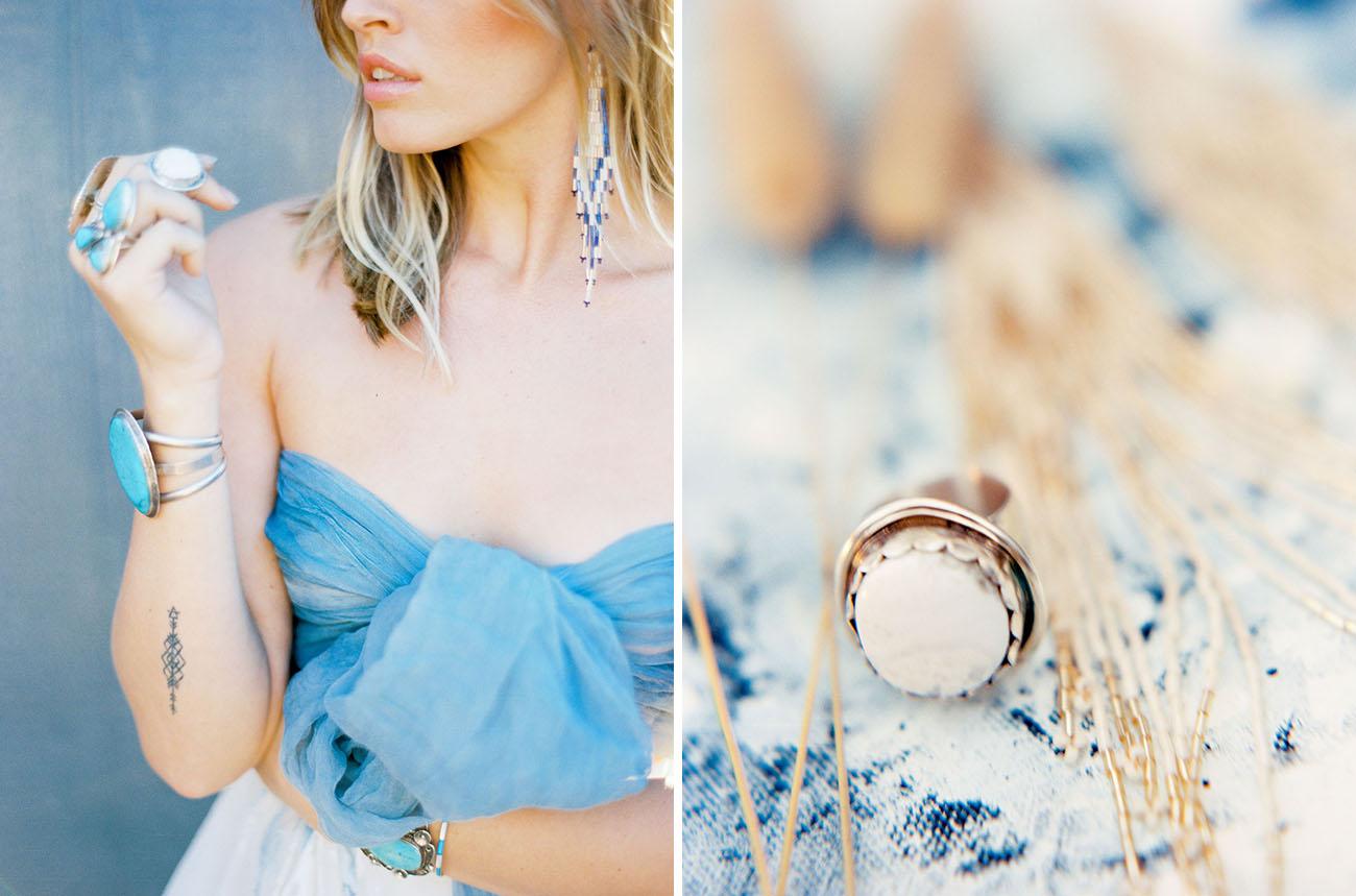 Abstract Art Bridal Inspiration