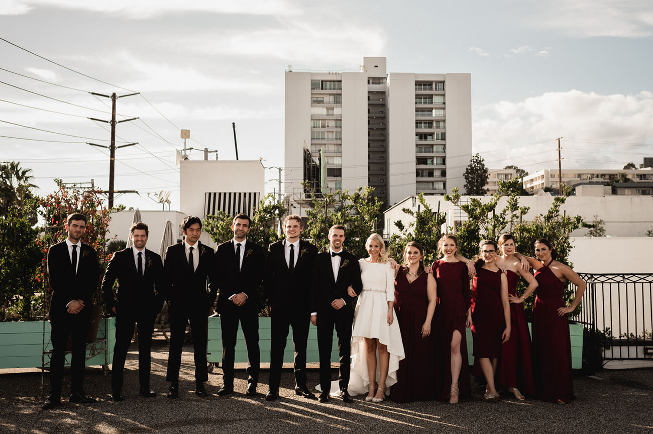 Smog Shoppe LA Wedding