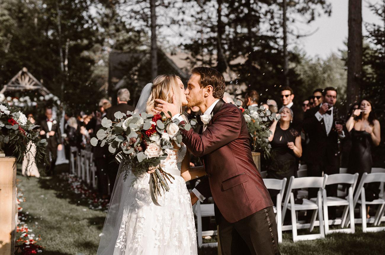 Black Tie Maine Wedding