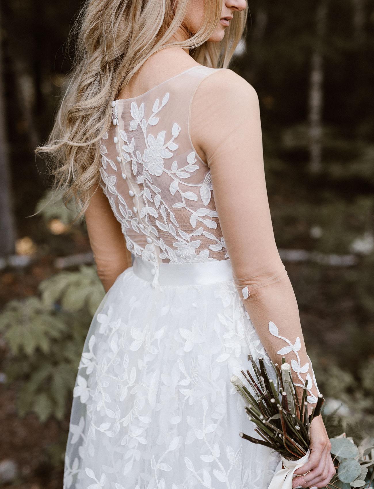 floral back dress
