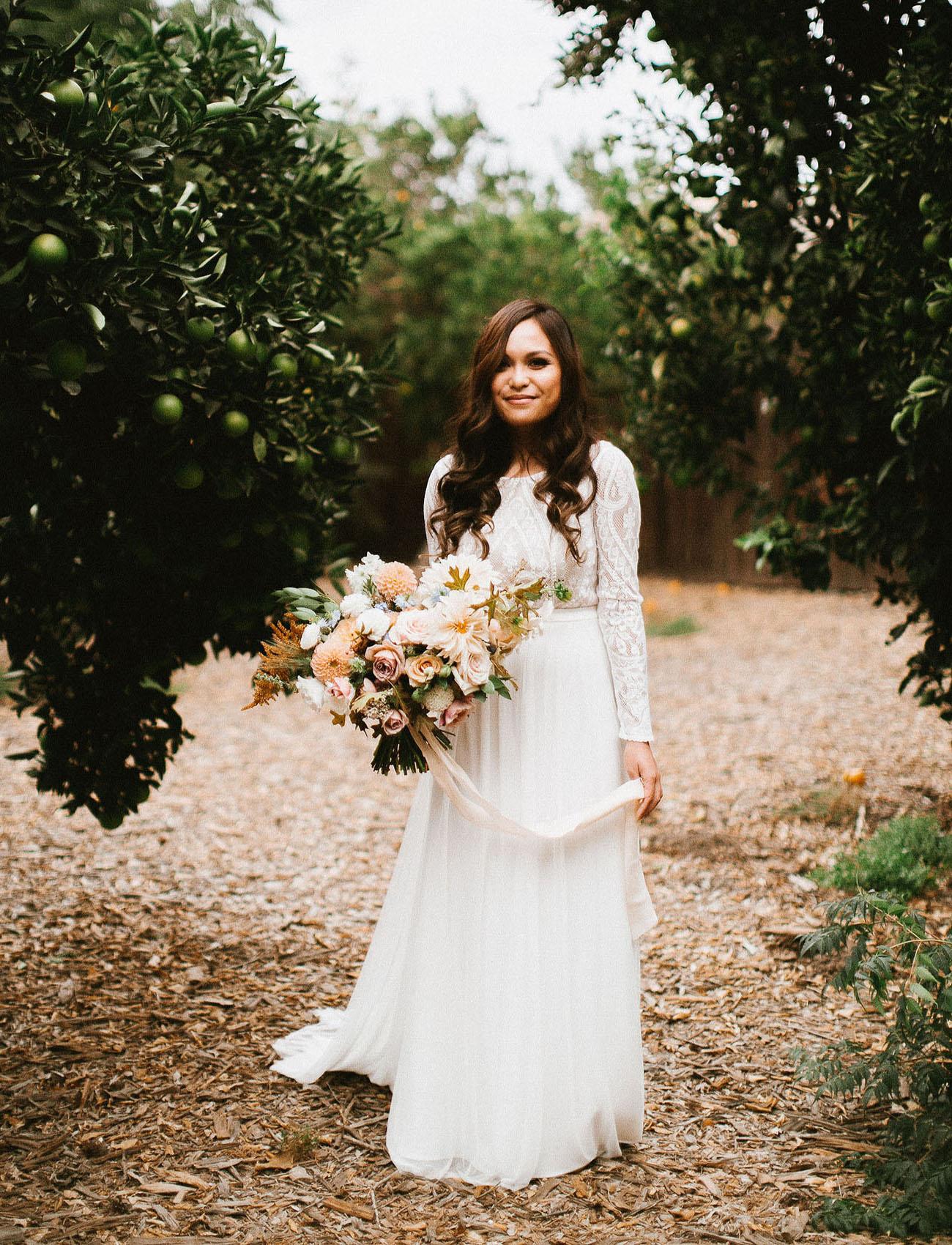 Flora Bridal dress