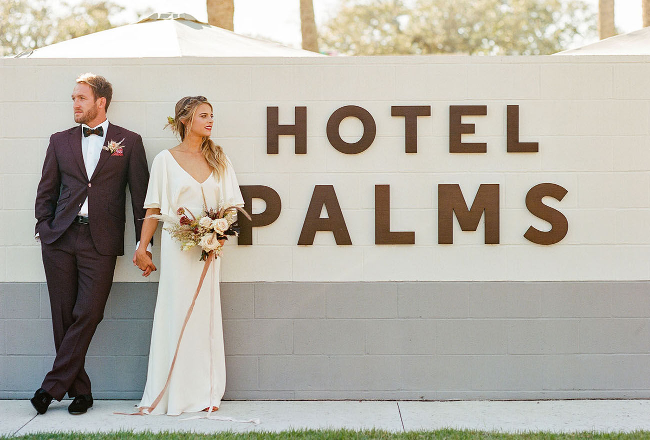 Florida Boho Beach Wedding