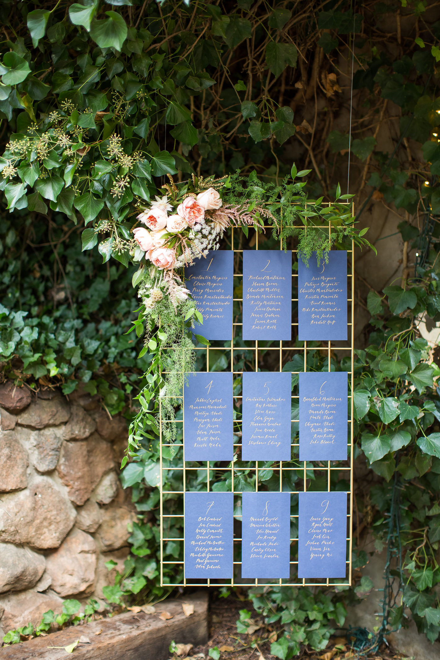 16 Escort Card Display Ideas That Make Finding Your Seat