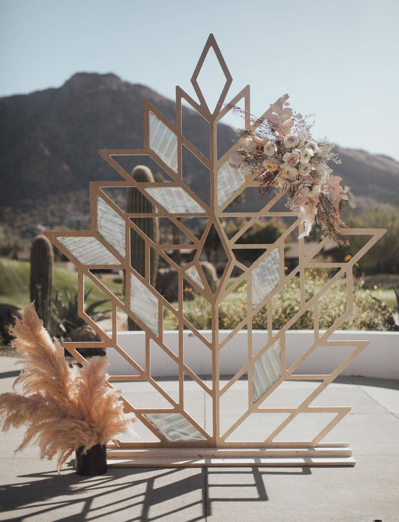 Edgy Prism Wedding Inspiration