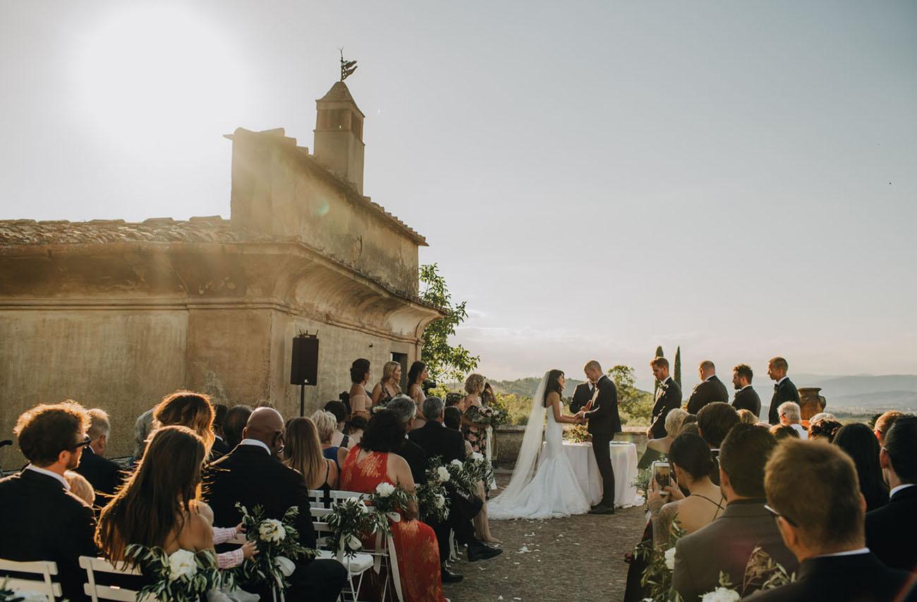 Romantic Tuscany Wedding