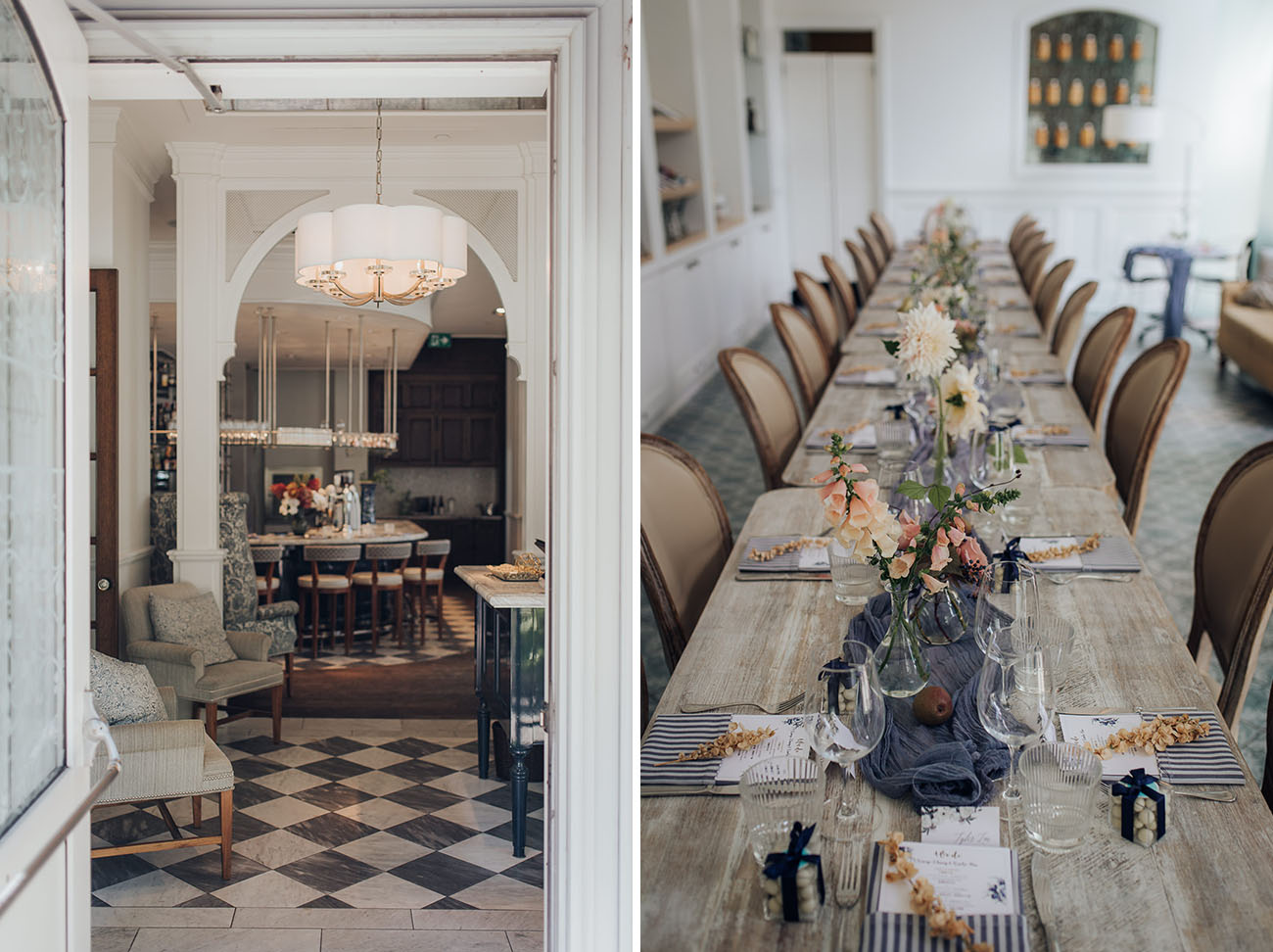 Charming Toronto French Cafe Wedding