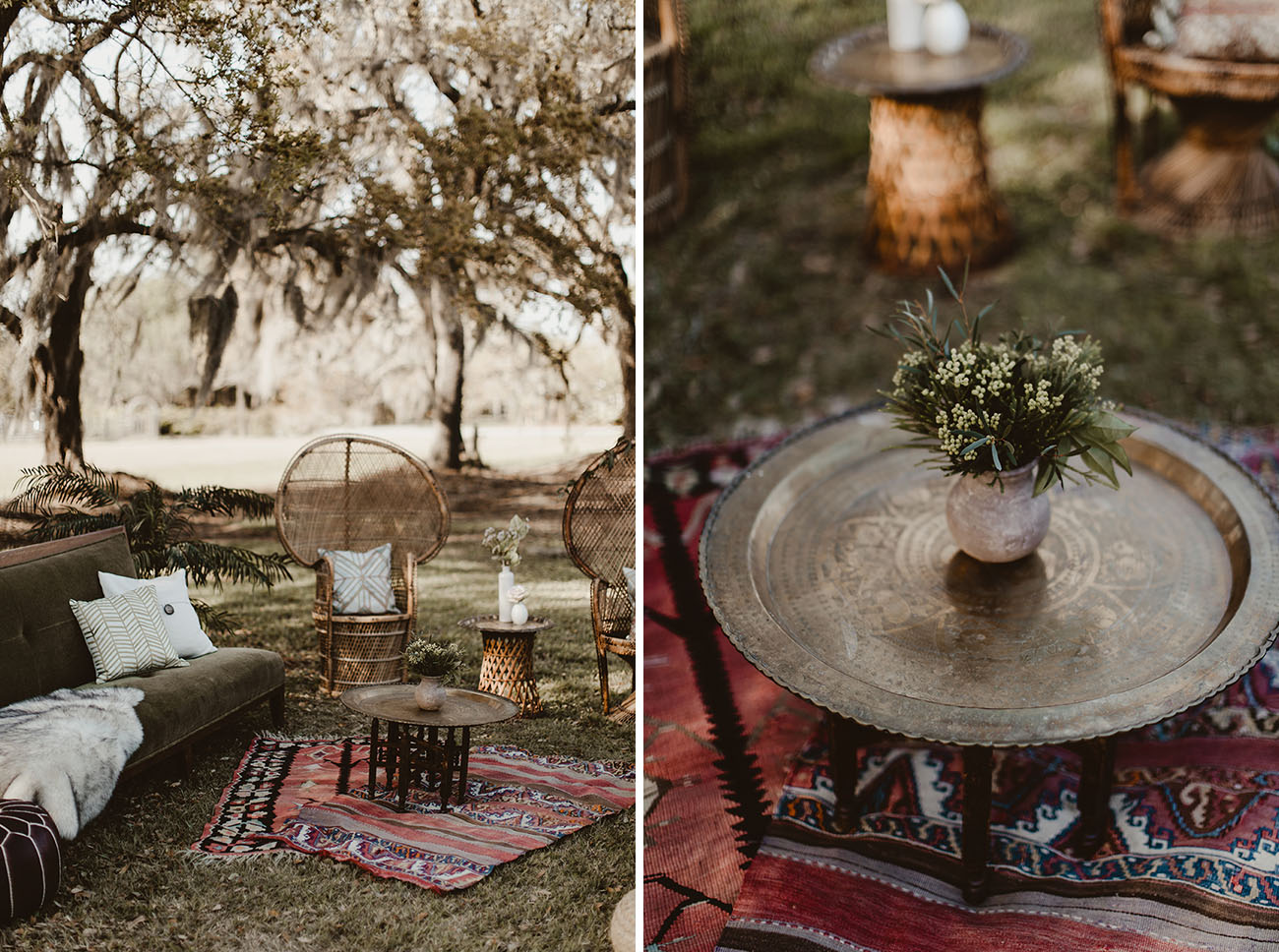 Boho Beer Wagon Inspiration