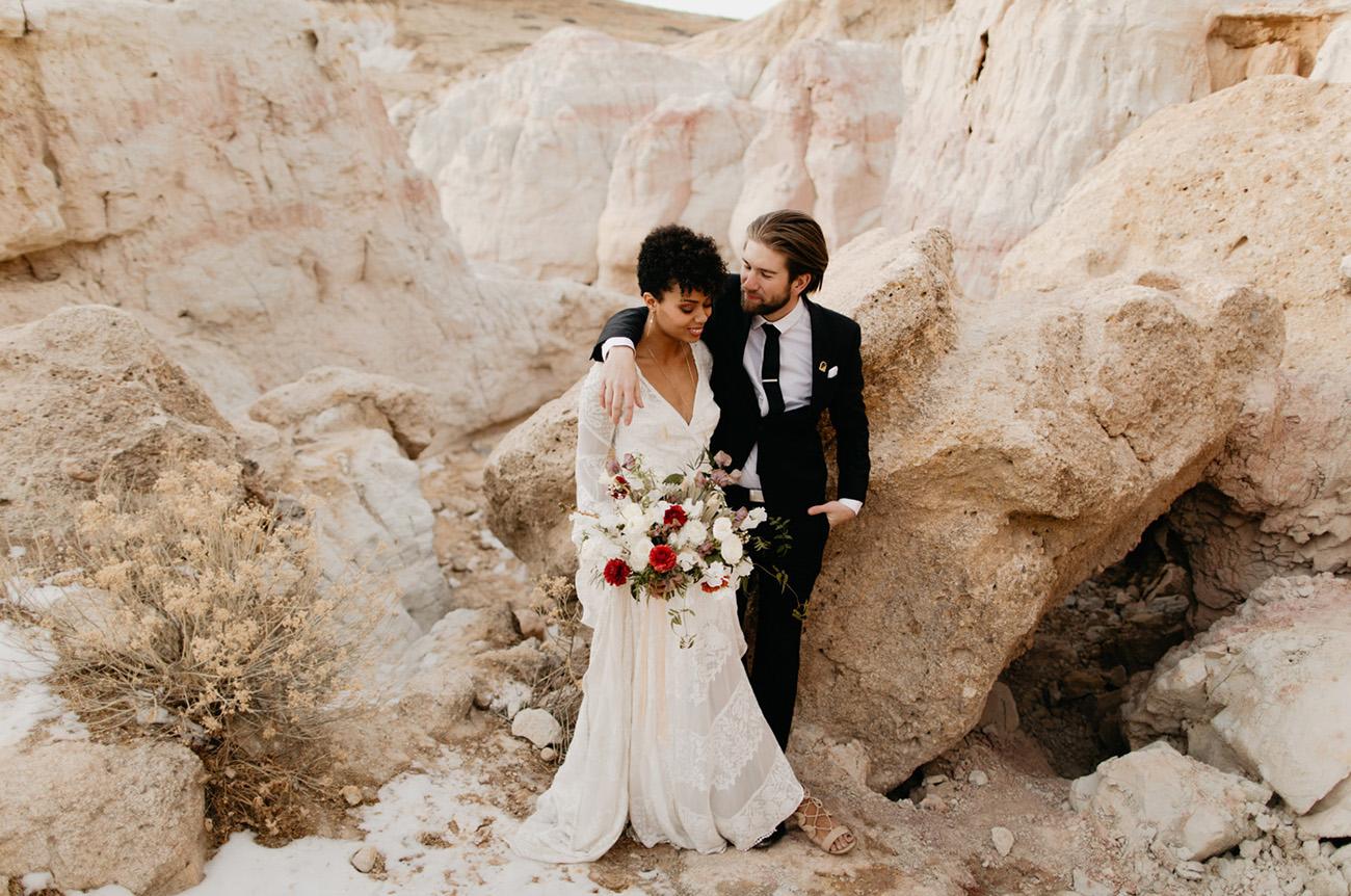 Colorado Desert Wedding Inspiration
