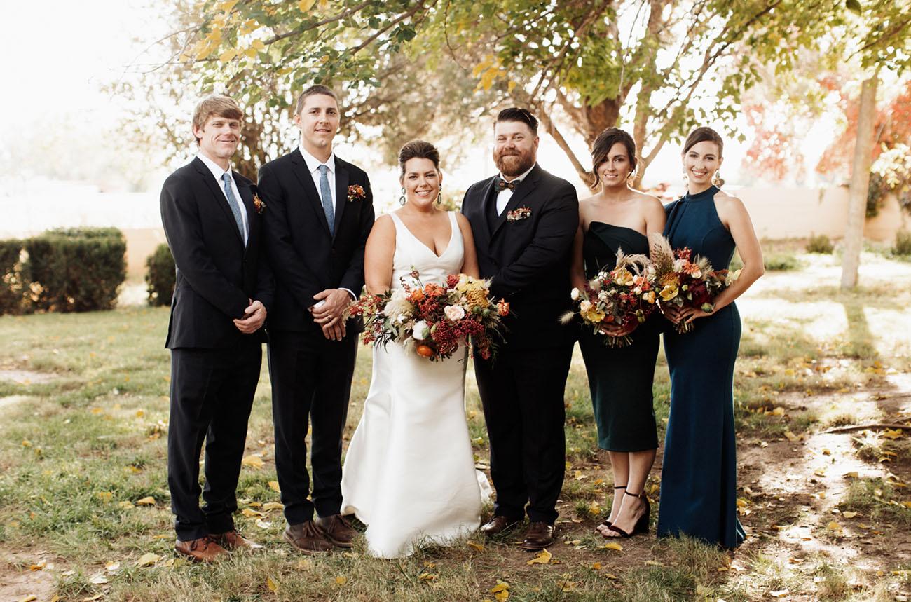 New Mexico Farm Wedding