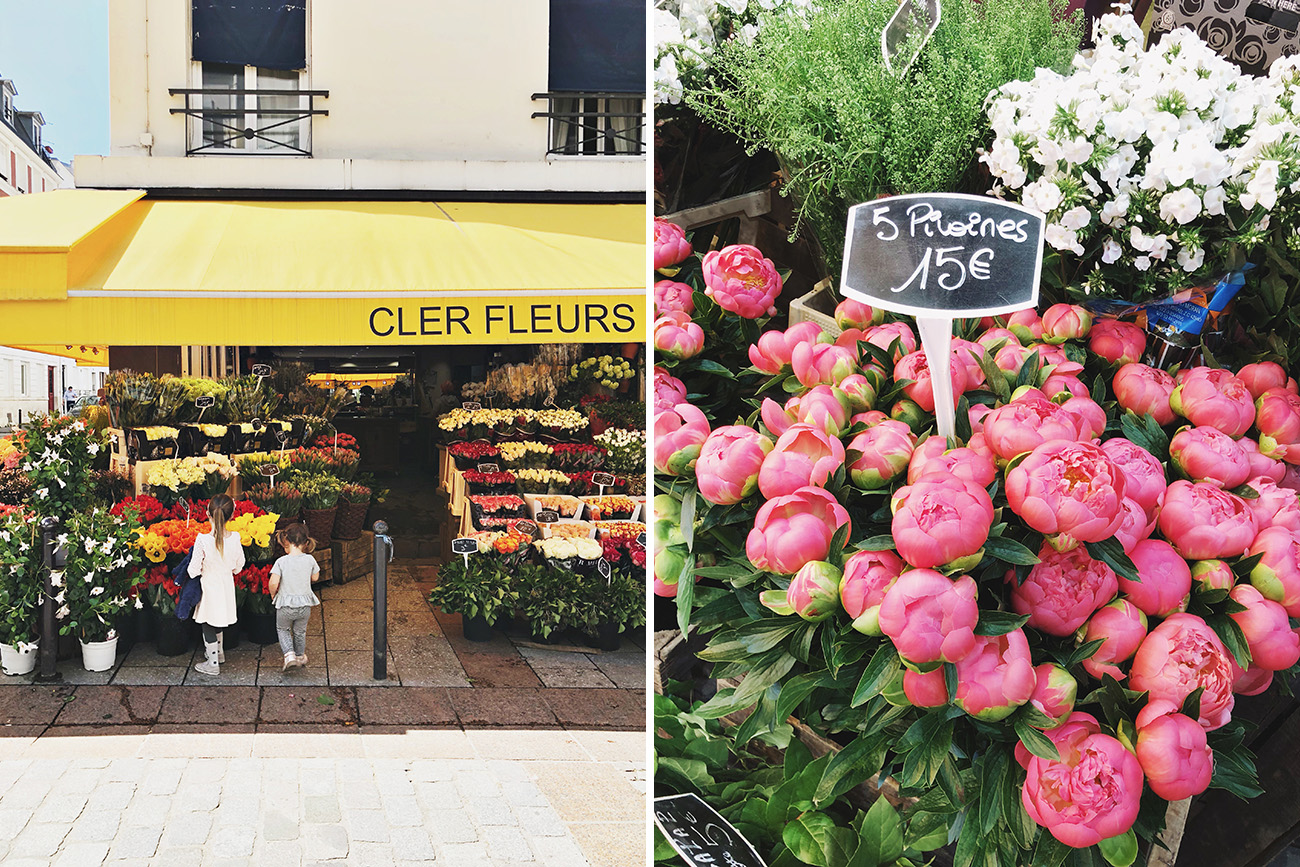Rue Cler Street in Paris