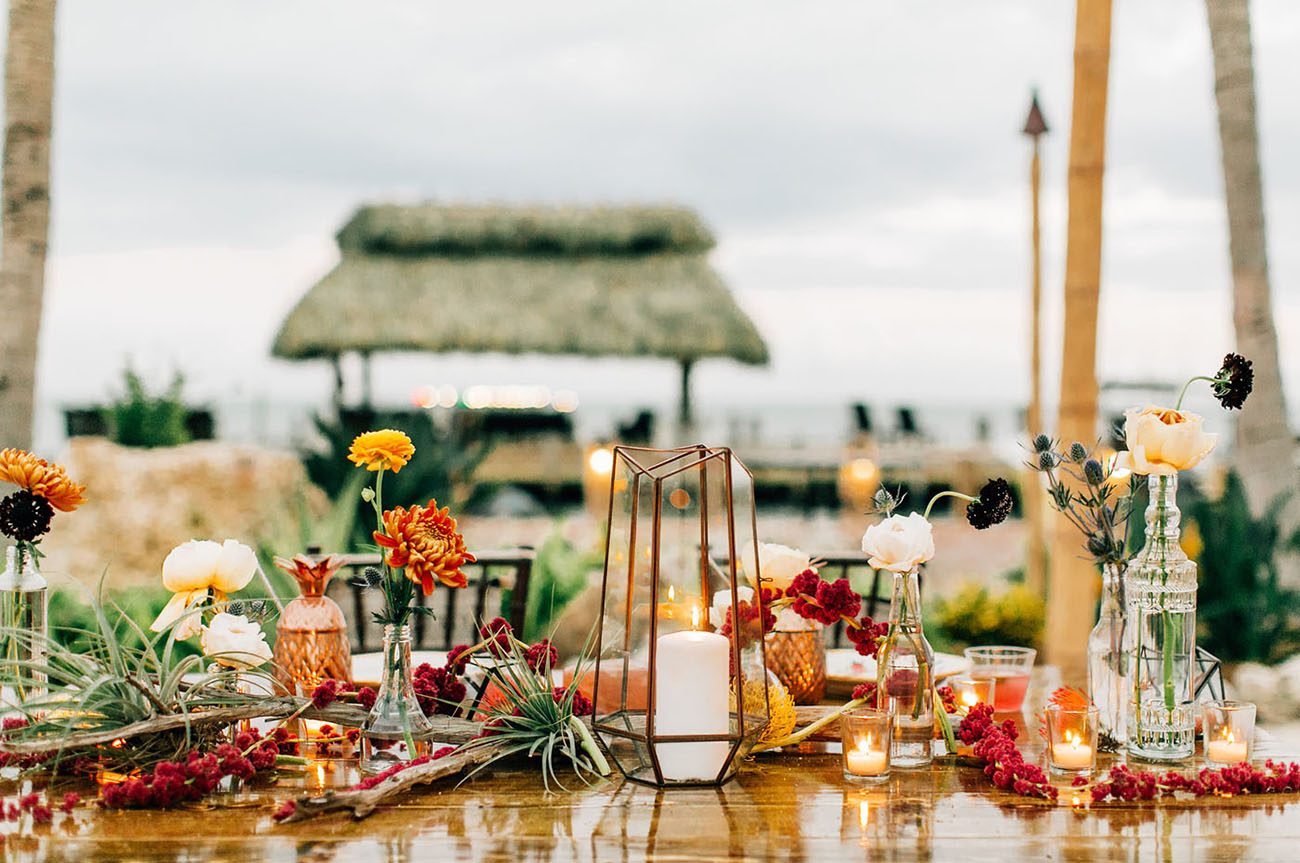 Tropical Laid Back Beach Front Wedding In The Florida Keys