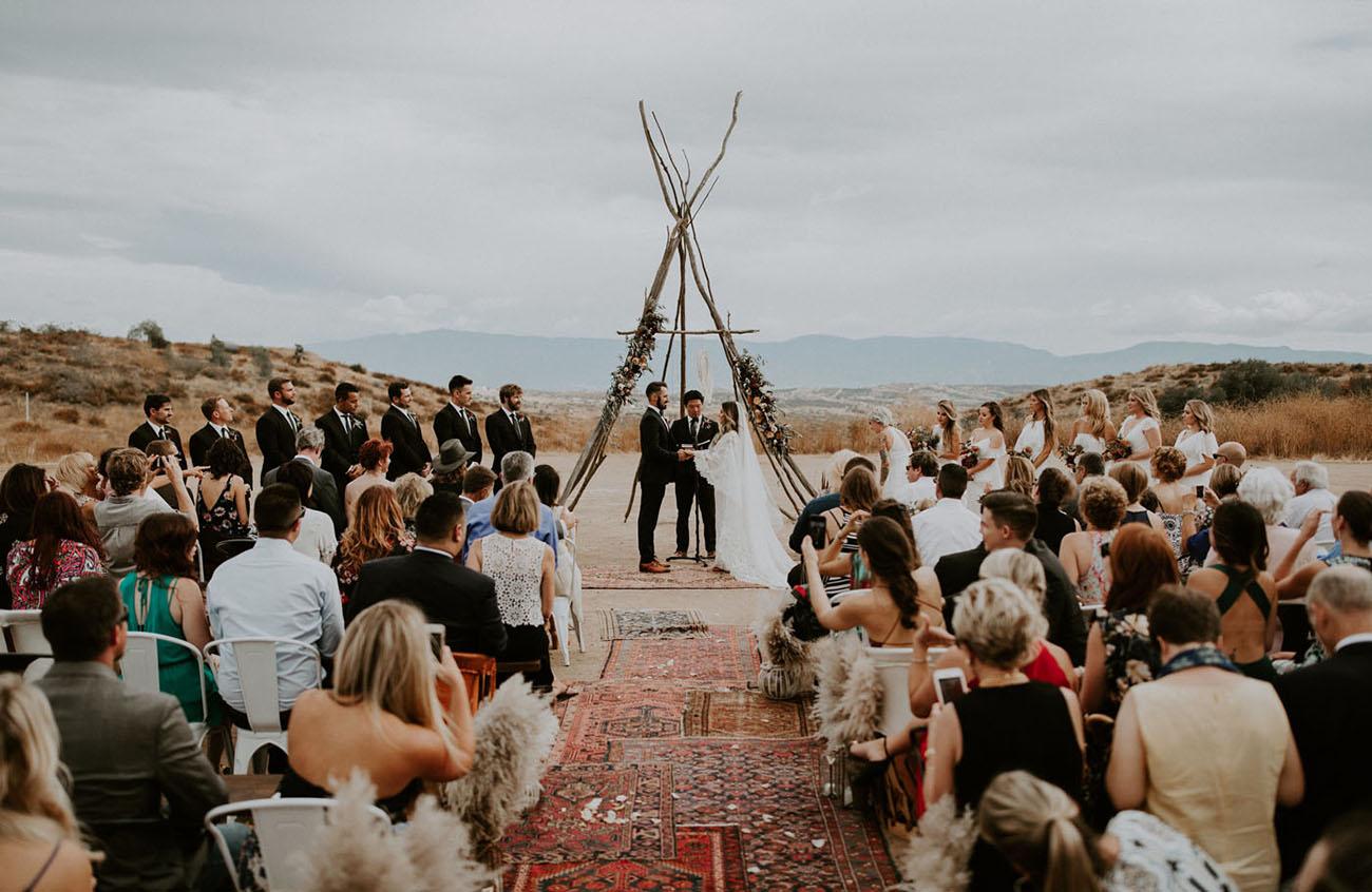 Wolf Feather Honey Farm Wedding