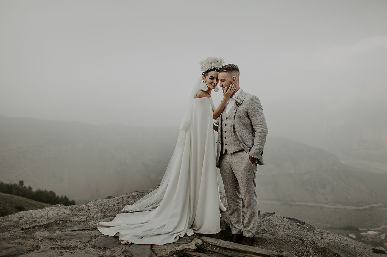 European Mountain Wedding