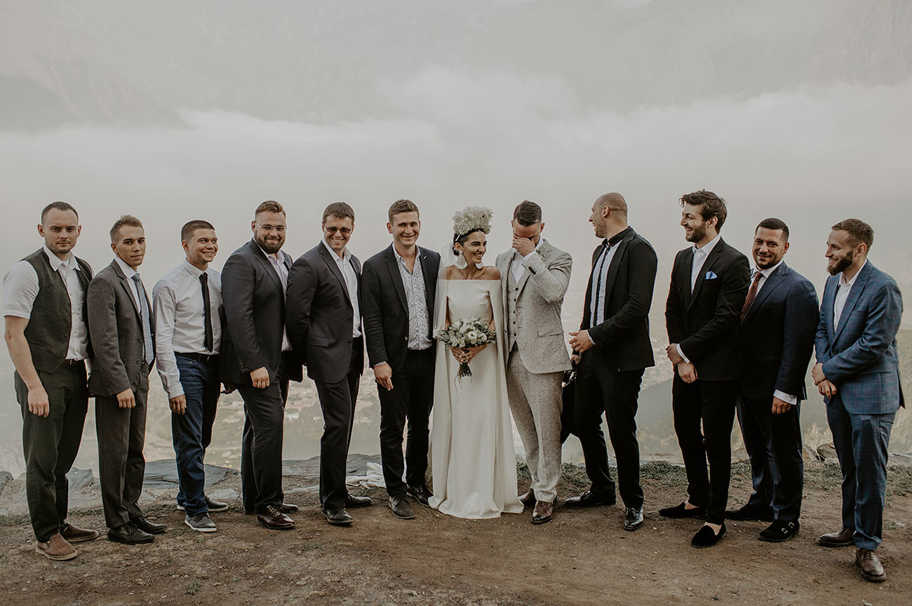 European Mountain Wedding