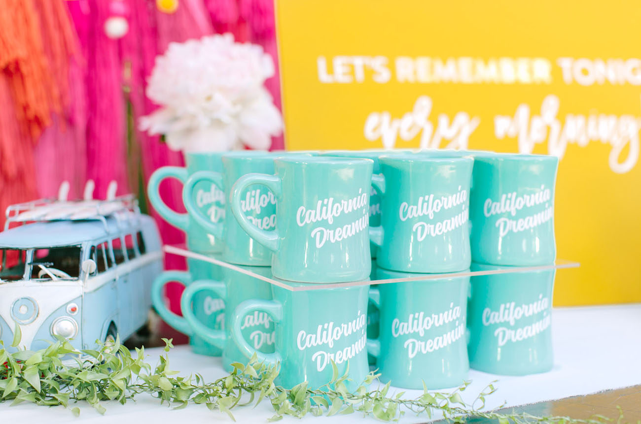 wedding mug favors