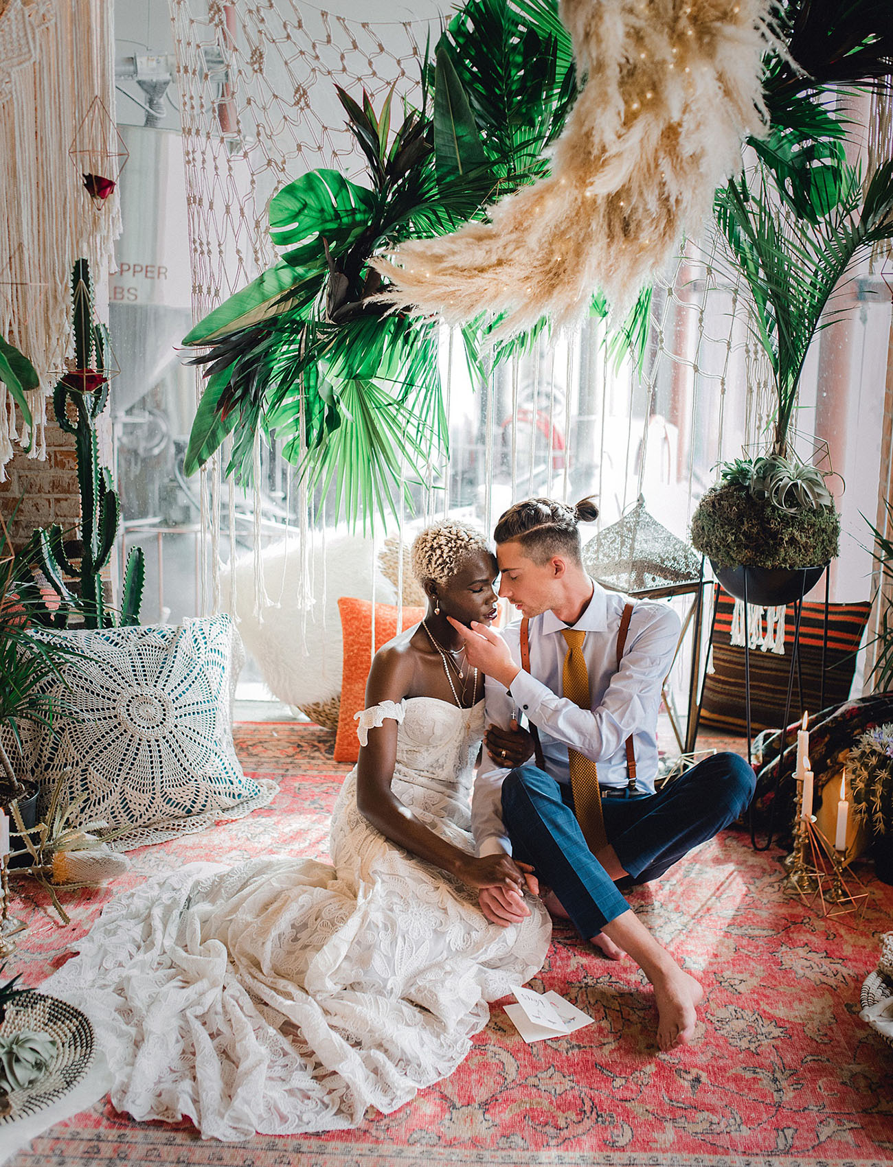 Boho Jungle Wedding Inspiration