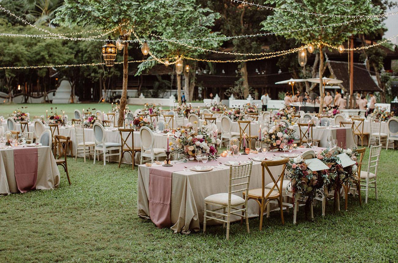 Whimsical Thailand Wedding