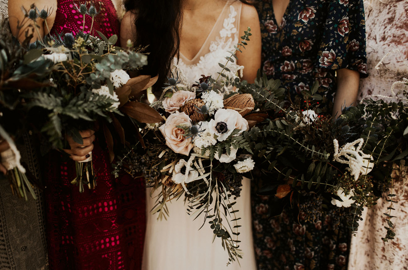luxe bouquets