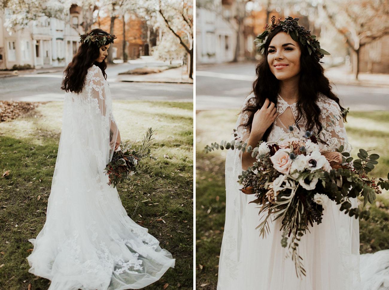 Savannah Georgia Boho Wedding