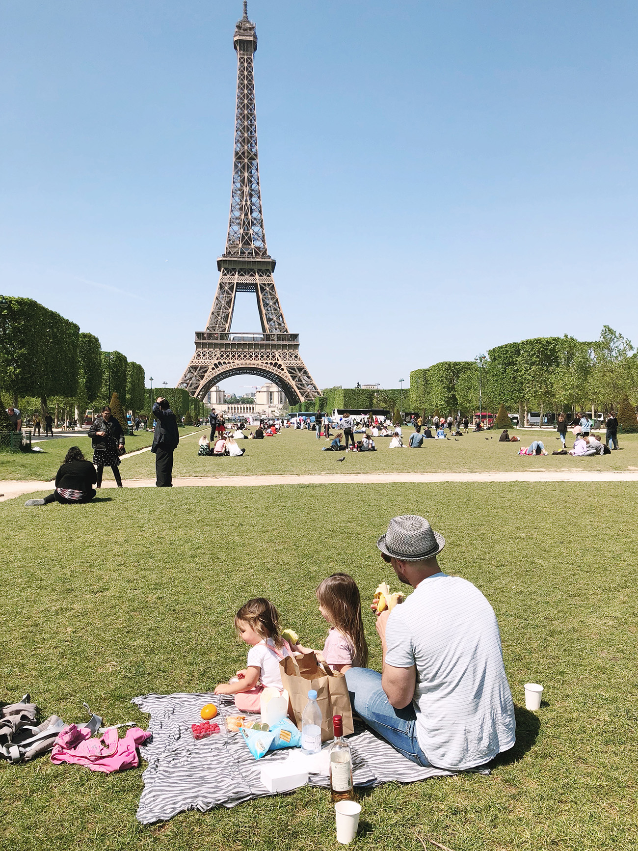 Picnic by the Eiffel Tower