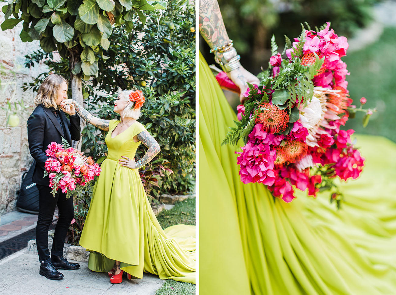 Vibrant Mexico Wedding