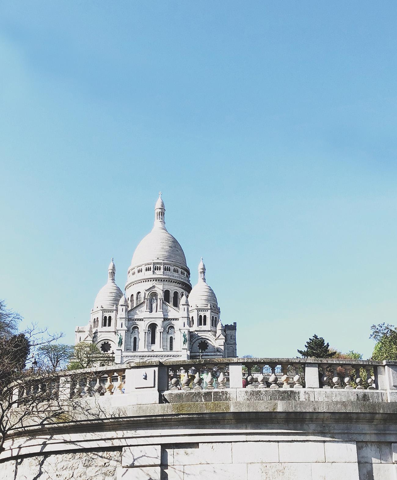 Sacre Coeur in Montmarte