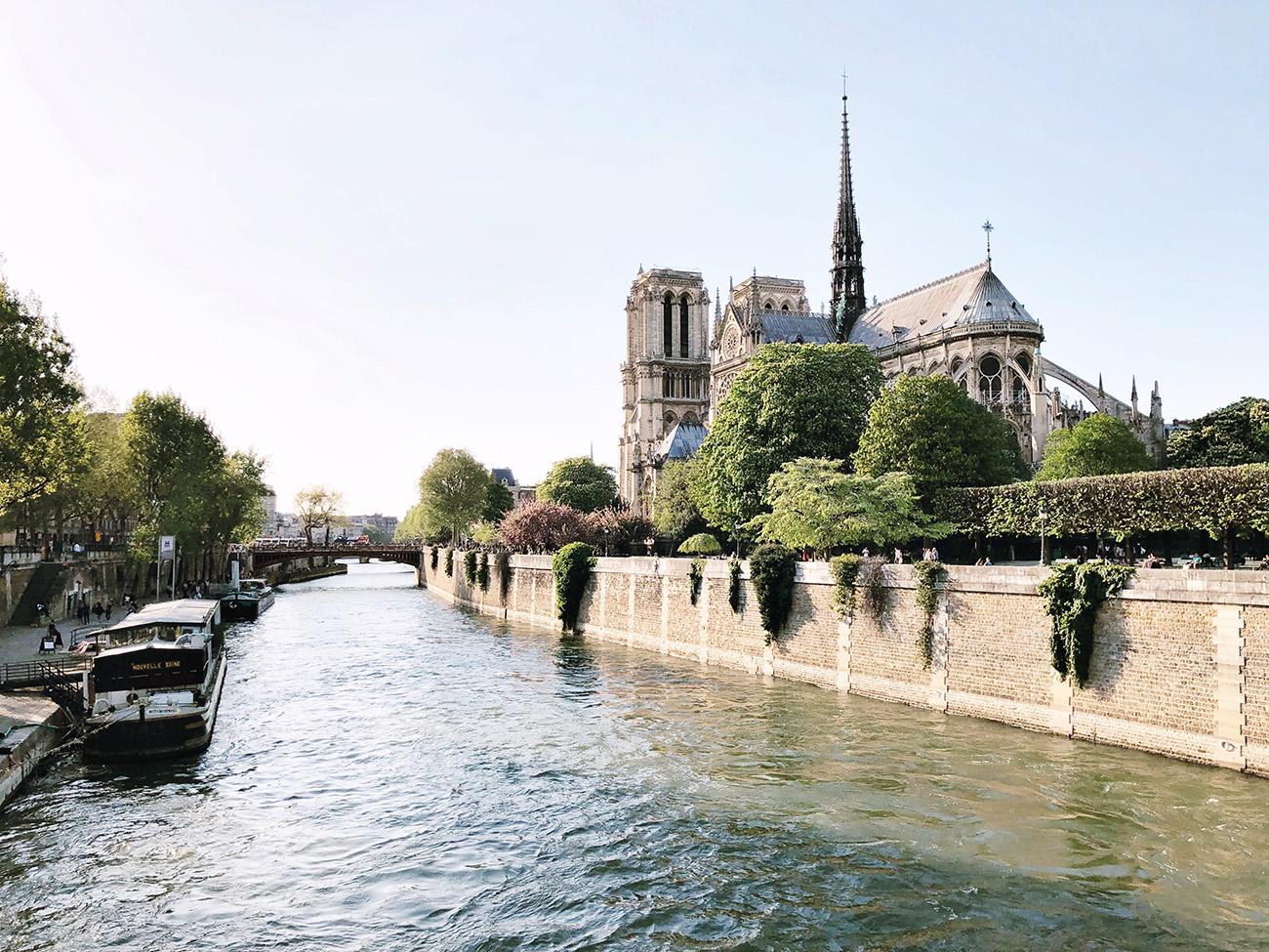 Seine River and Notre Dame