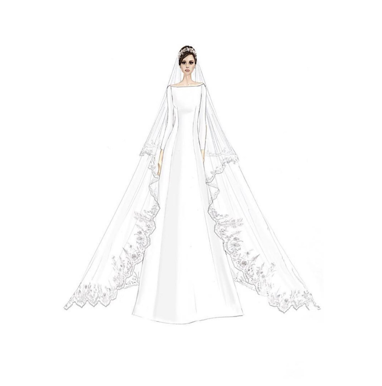 get the look  meghan markle u0026 39 s wedding day looks