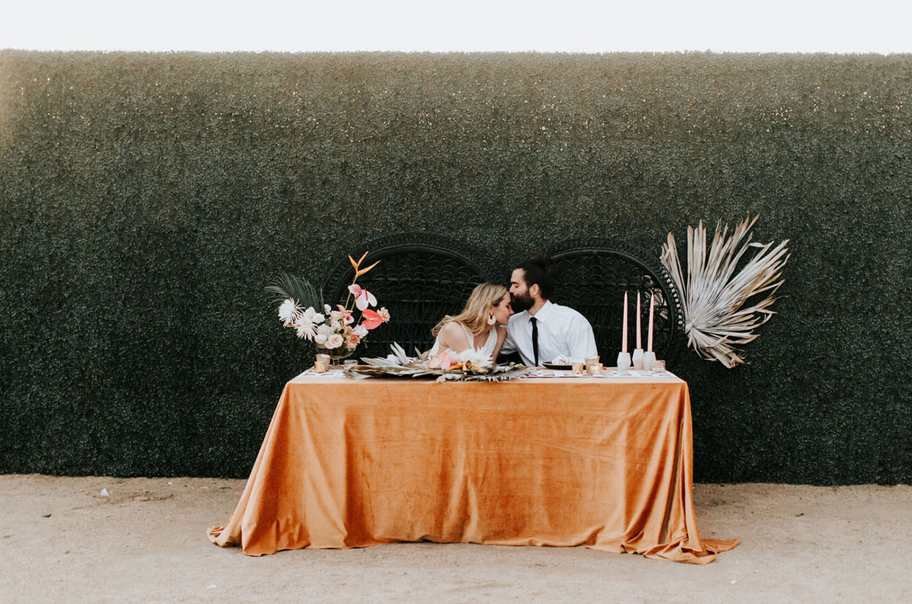 Tropical Desert Vow Renewal