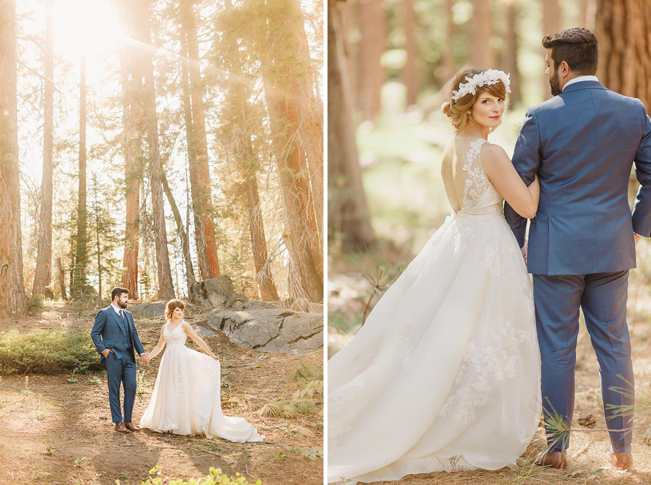 Ethereal Yosemite Day After Wedding Portraits