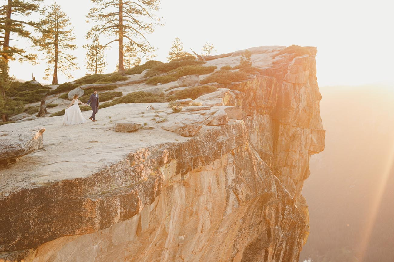 Ethereal Yosemite Taft Point Portraits