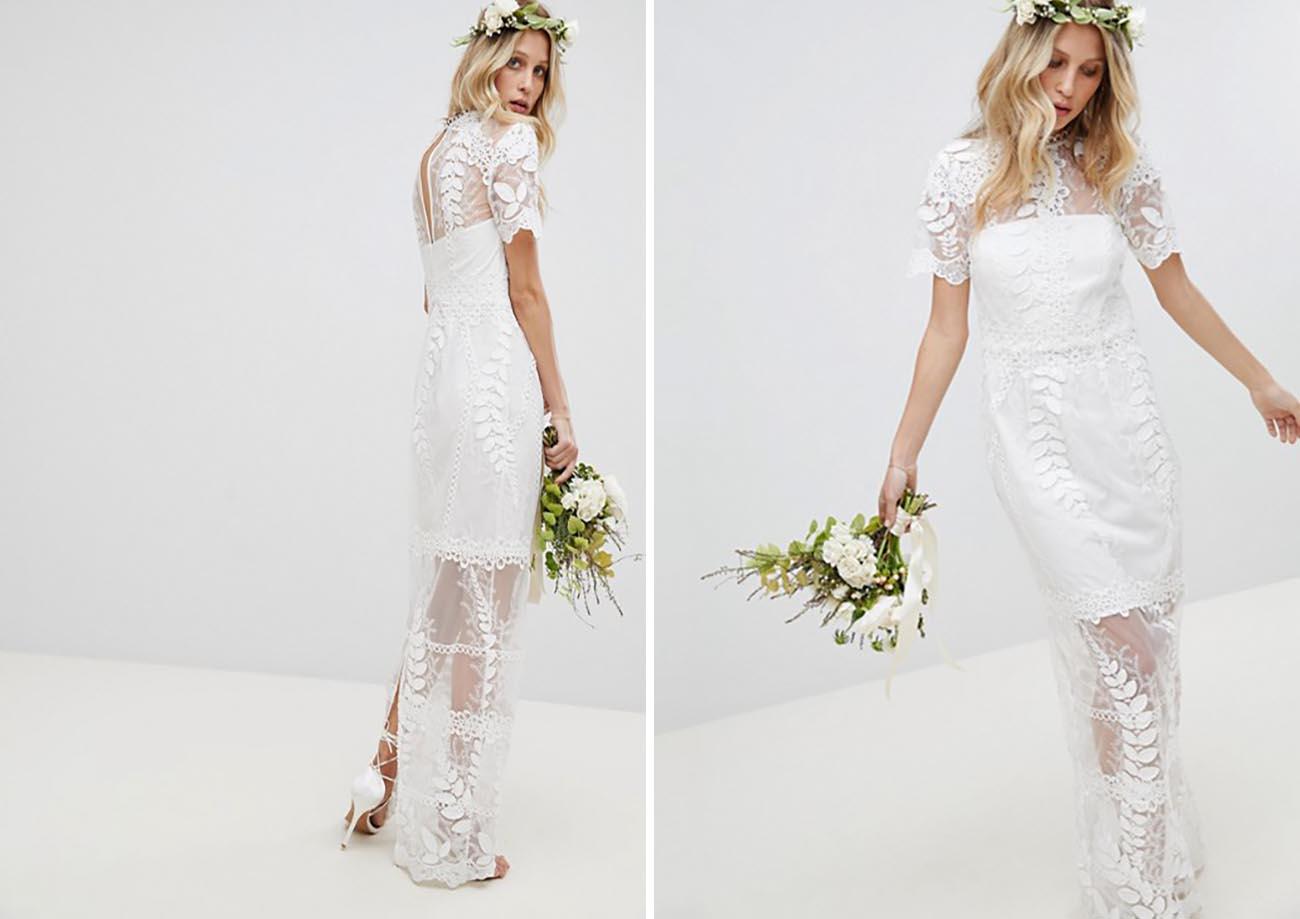 Surf + Sand: 14 Wedding Dresses for Your Laid-Back Beach Wedding ...