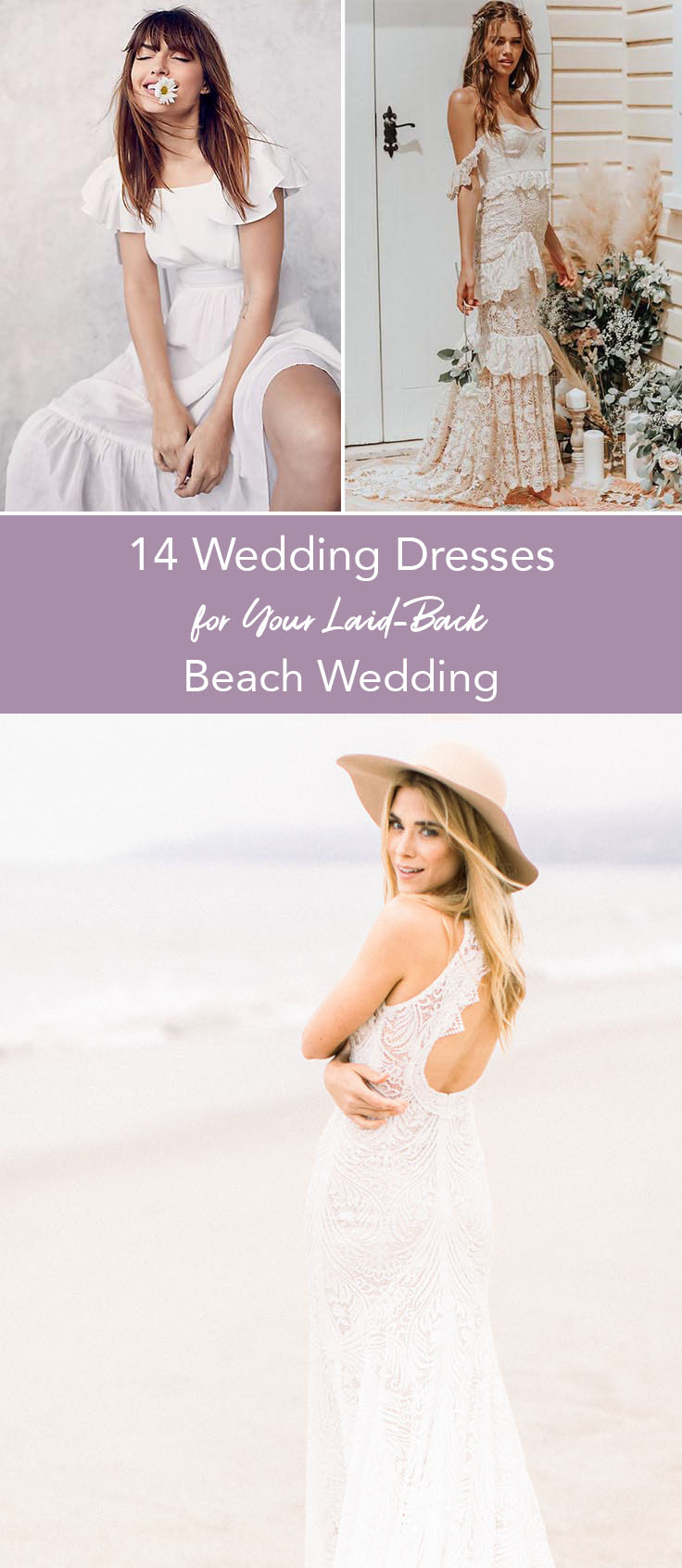14 Wedding Dresses for your Beach Wedding