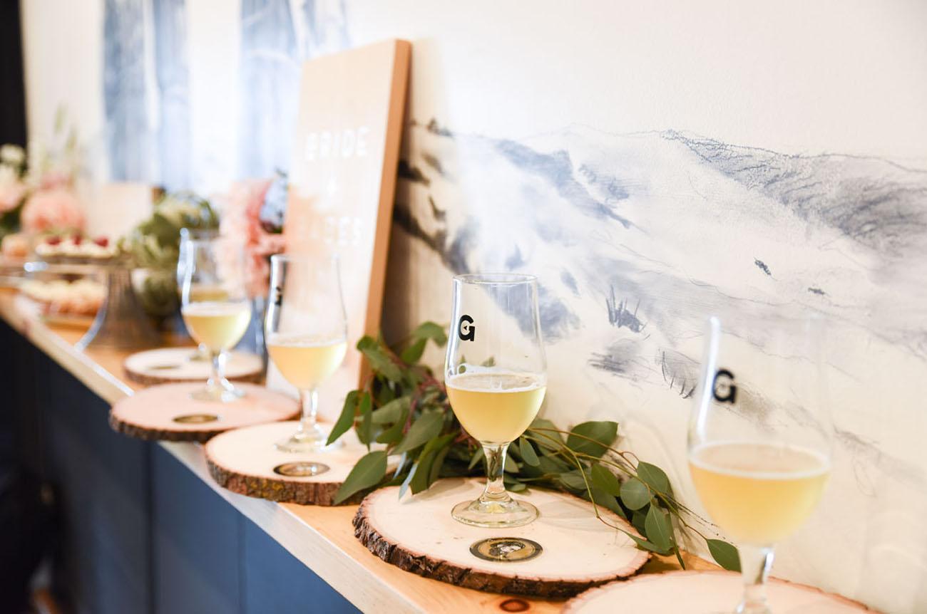 Craft Beer Tasting Bridal Shower