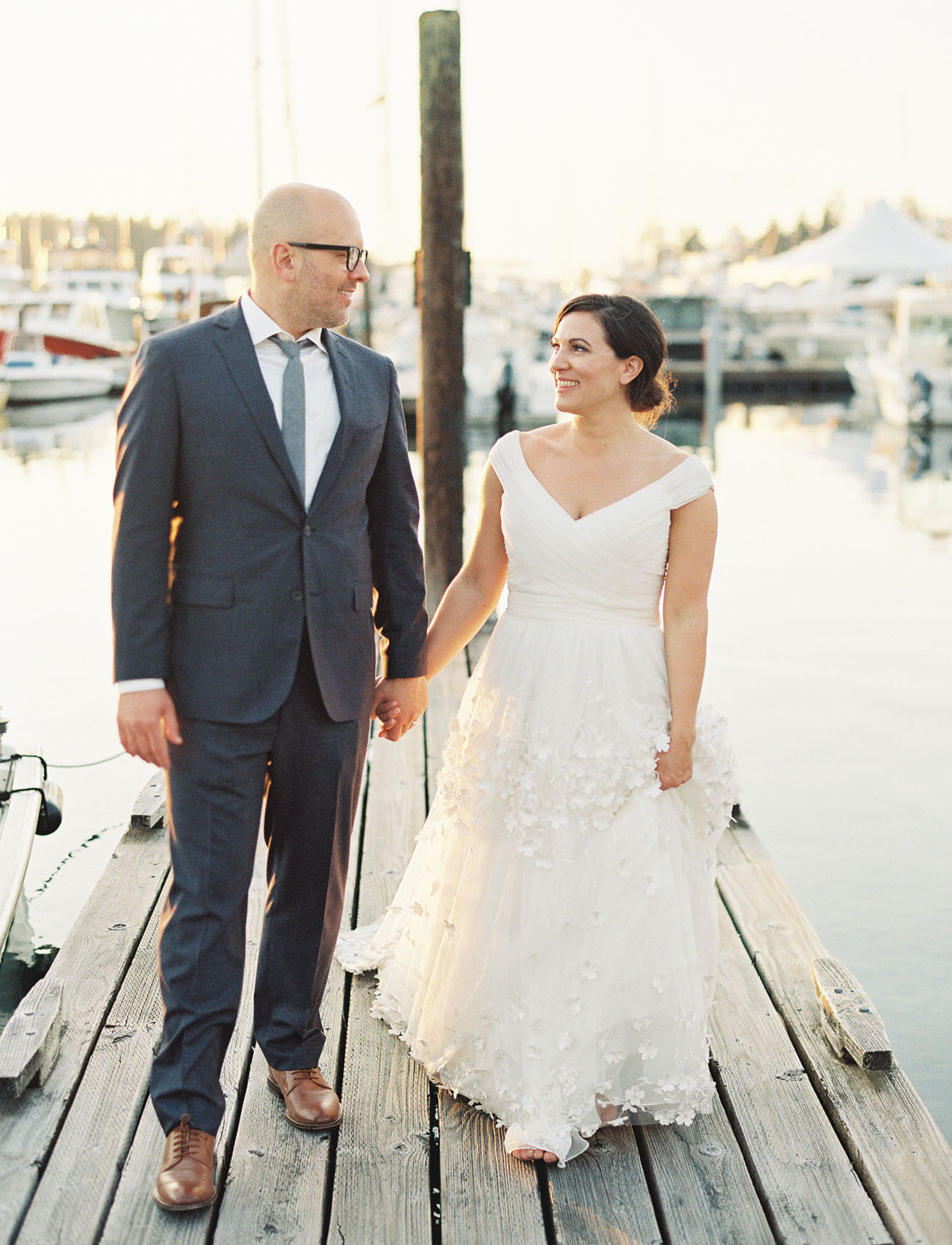 Pacific Northwest Island Wedding