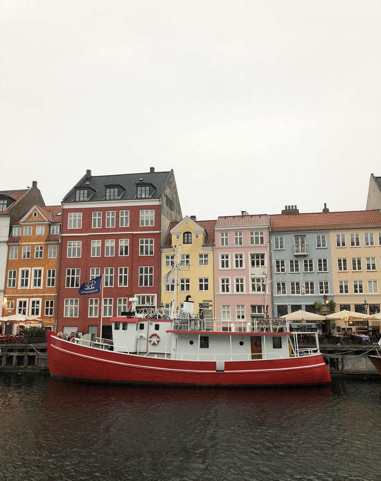 Copenhagen Colorful Houses