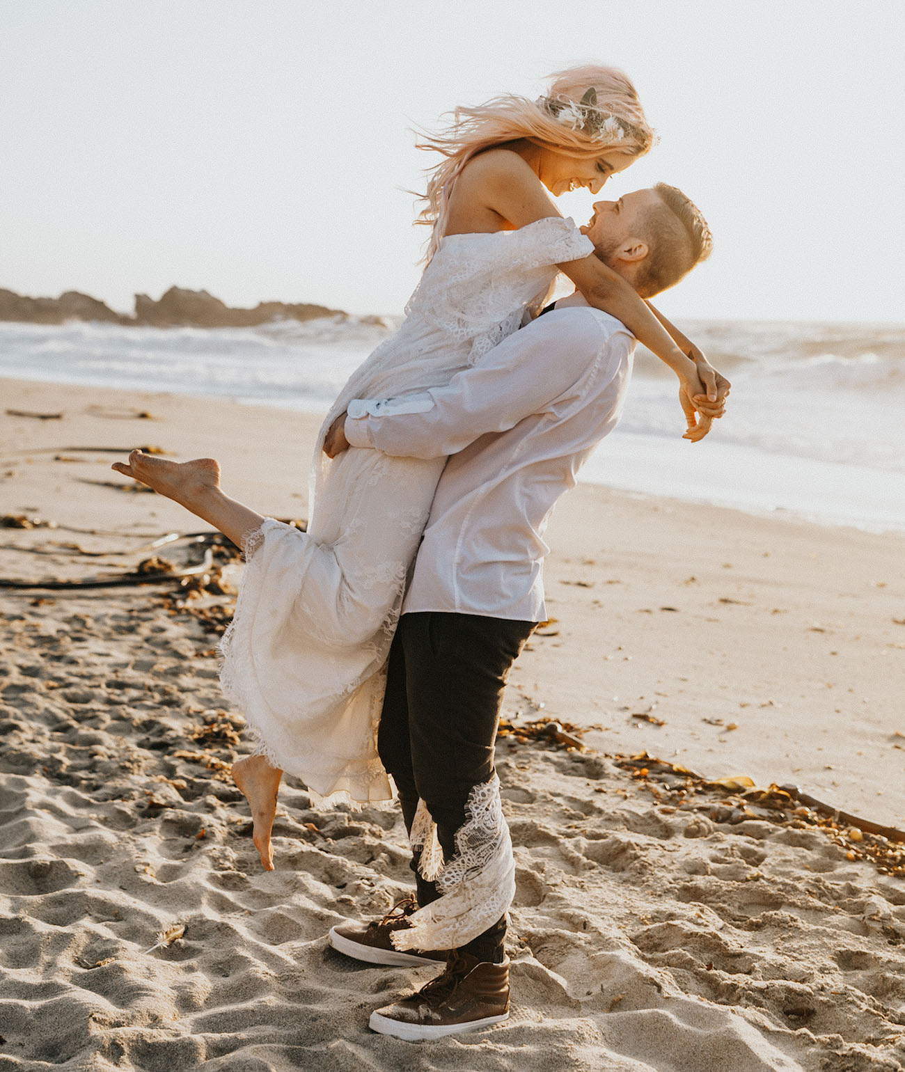 Cliffside Big Sur Wedding