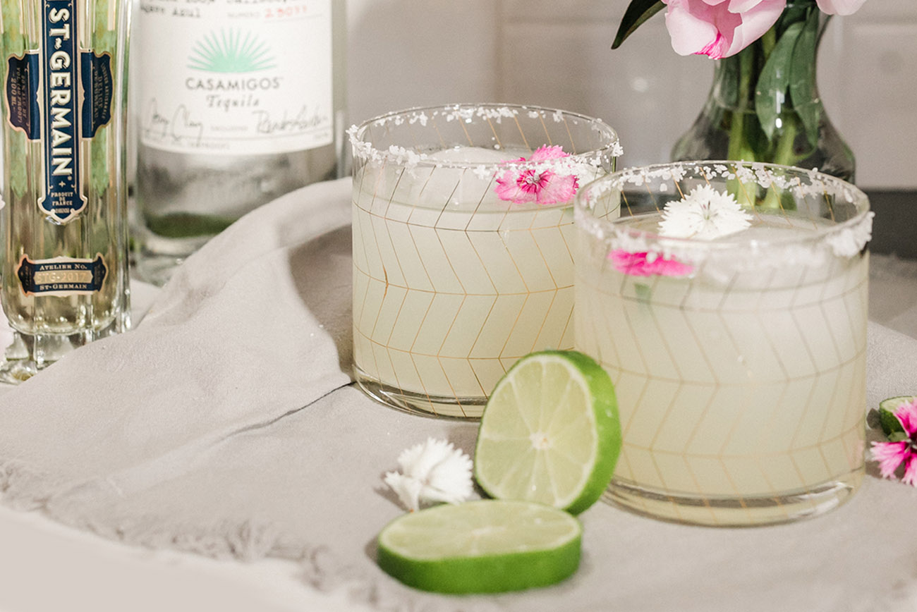 How to Make a Elderflower Margarita