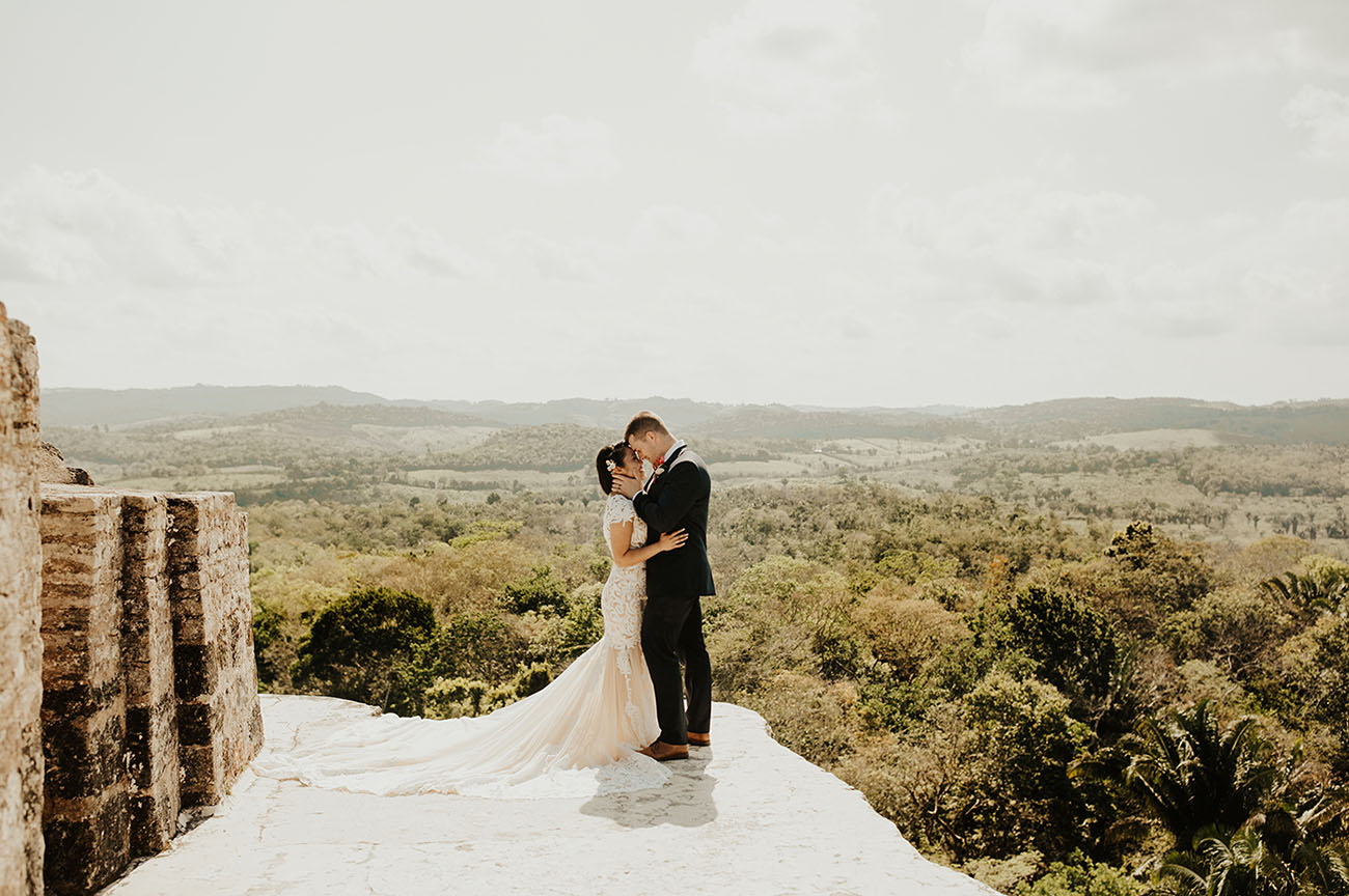 Ancient Mayan Temple Wedding