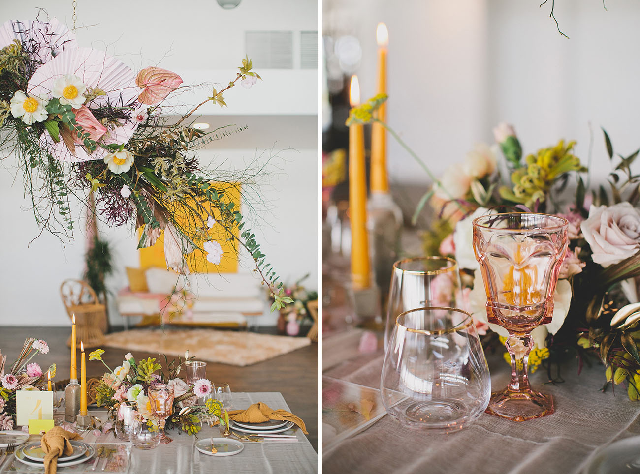 Gen Z Yellow Wedding Inspiration