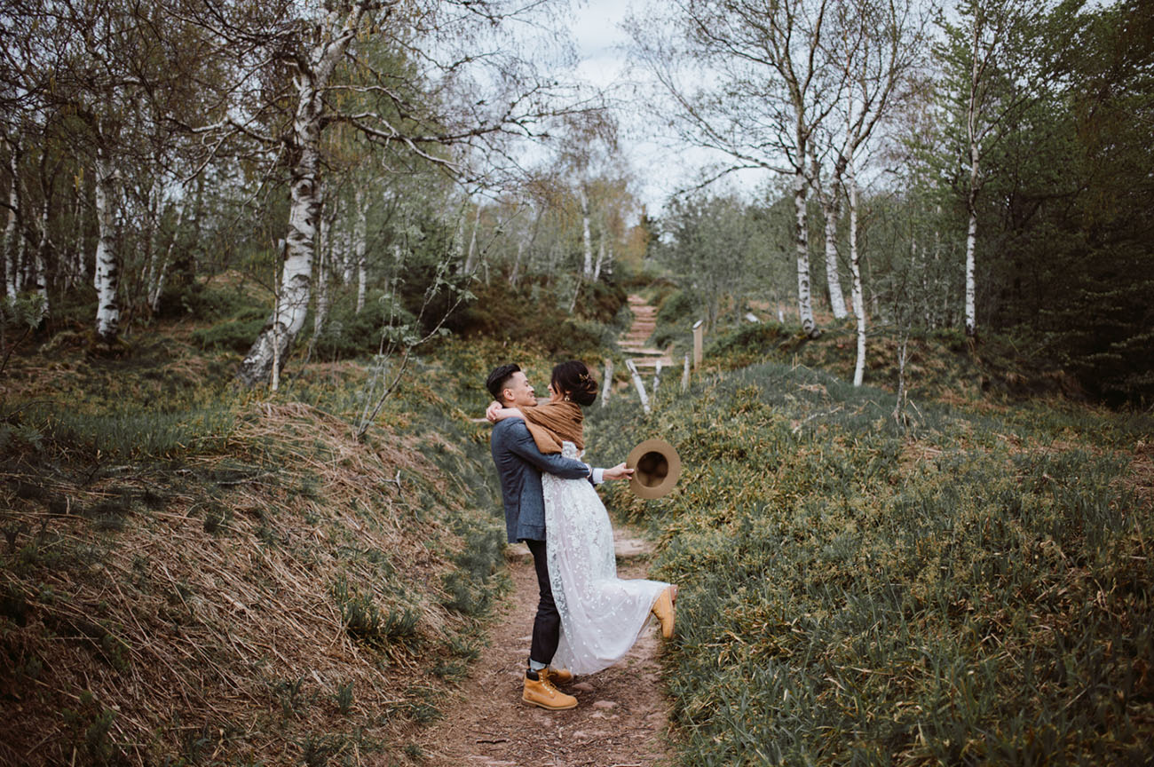 Boho France Elopement